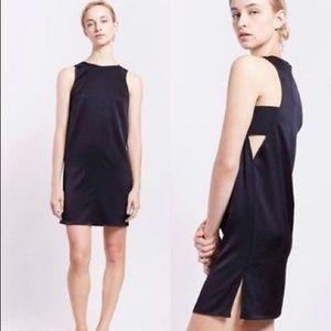 Rag & Bone clementine cut-out black dress